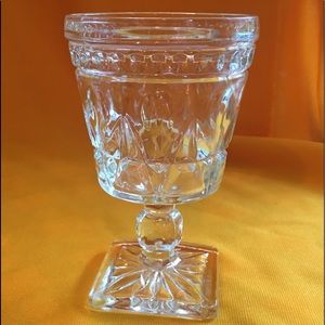Colony Park Lane Clear Wine Glass